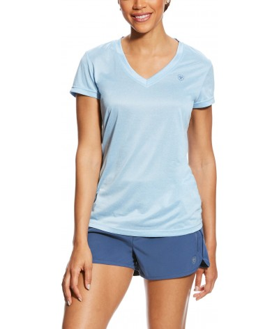 Ariat Dames Laguna T-shirt Powder Blue