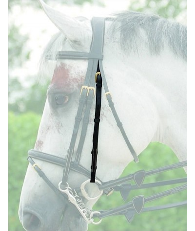 Dyon Double Bridle Cheek Piece 'Dyon Collectie'