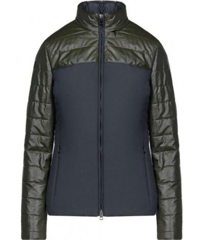 Cavalleria Toscana Coated Rip-Stop Quilted Jacket