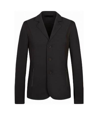 Cavalleria Toscana Girl's Tech Knit Button Riding Jacket