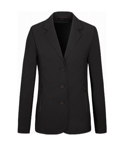 Cavalleria Toscana Boy's Tech Knit Button Riding Jacket