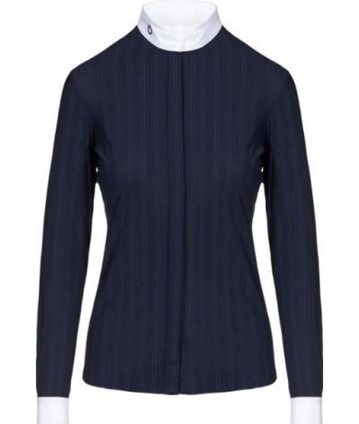 Cavalleria Toscana Embossed LS Shirt