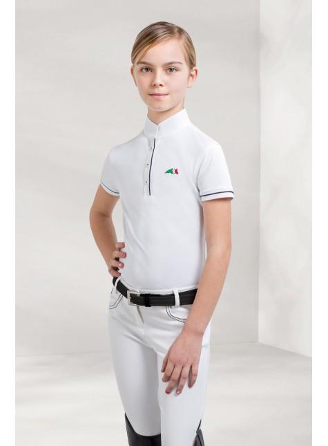 Equiline Children Short-sleeved Polo Selena