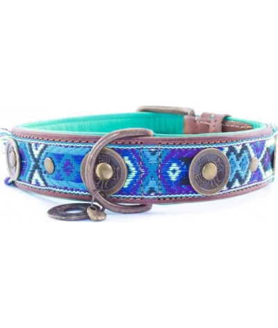 Dog With A Mission Halsband Boho Juan 4 CM