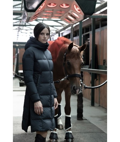 Cavalleria Toscana Down Padded Long Coat With Hood