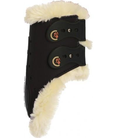 Kentucky Sheepskin Fetlock Boots Elastic