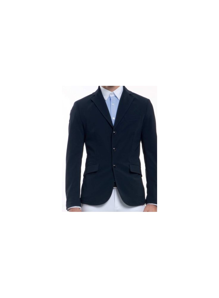 Cavalleria Toscana Knit Collar Riding Jacket Men
