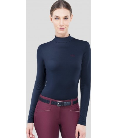 Equiline Woman's Shirt L/S Turtleneck Drilla