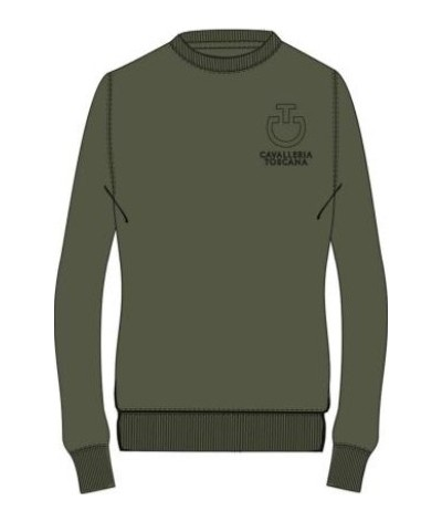 Cavalleria Toscana Crew Neck Sweatshirt