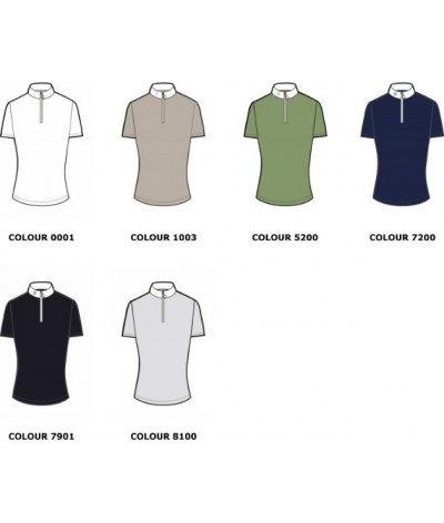 Cavalleria Toscana Laser Cut CT S/S Competition Polo