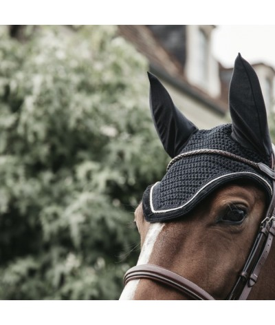 Kentucky Horsewear Fly Veil Wellington Corduroy