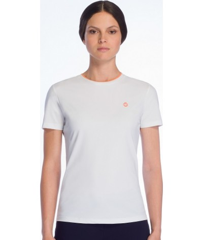 Cavalleria Toscana Rib Knit Banded T-shirt