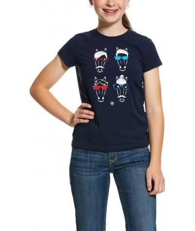 Ariat Girls Hipster SS Tshirt
