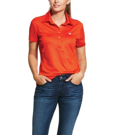 Ariat Women's Talent SS Polo Red Clay