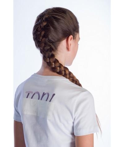 Cavalleria Toscana Peekaboo Top Girl Crew Neck T-shirt