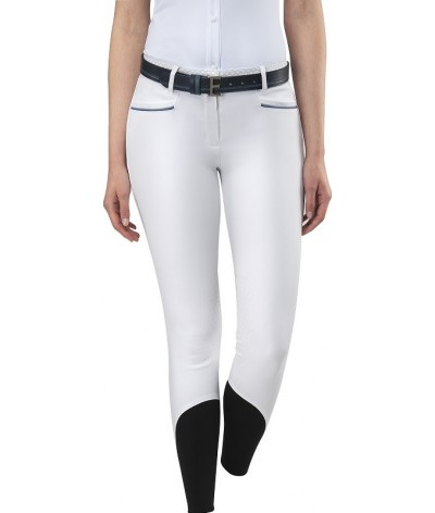 Equilline Women's Riding Breeches Knee Grip Esmeralda