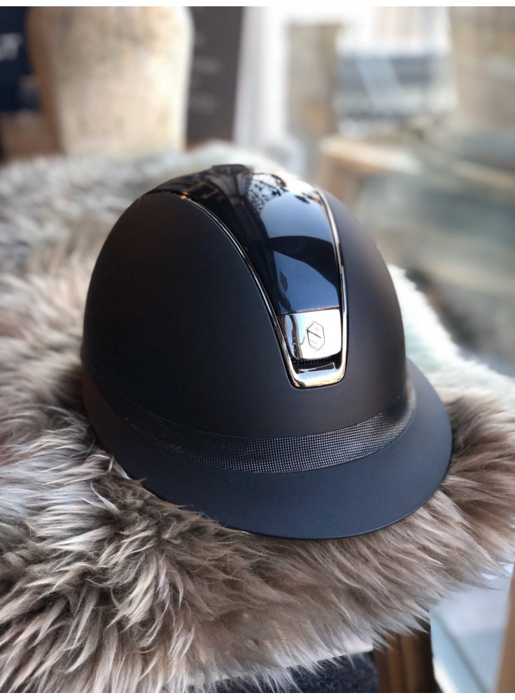 Samshield Cap Miss Shield Shadowmatt + Top Glossy + Shimmer + Zwart Chroom