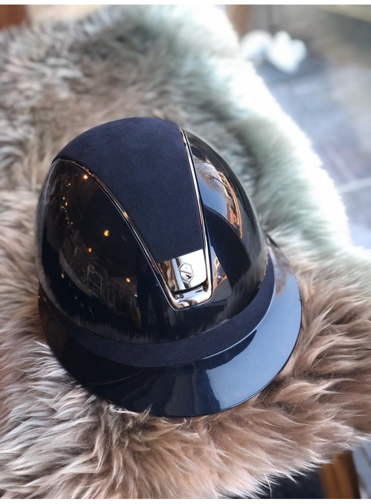 Samshield Cap Miss Shield Glossy + Top Shimmer + Band Shimmer + Zwart Chroom/5 Swarovski