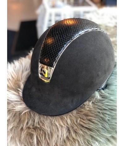 Samshield Cap Premium Zwart + Top Python + Chroom
