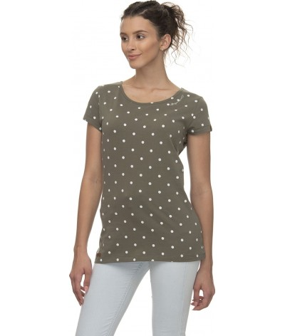 Ragwear Dames T-shirt Mint Dots