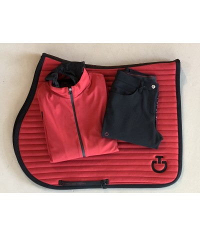Cavalleria Toscana Women's Softshell Warm-Up Jacket