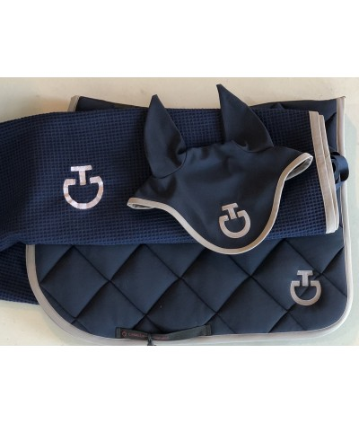Cavalleria Toscana Jersey Quilted Rhombi Jumping Saddle Pad