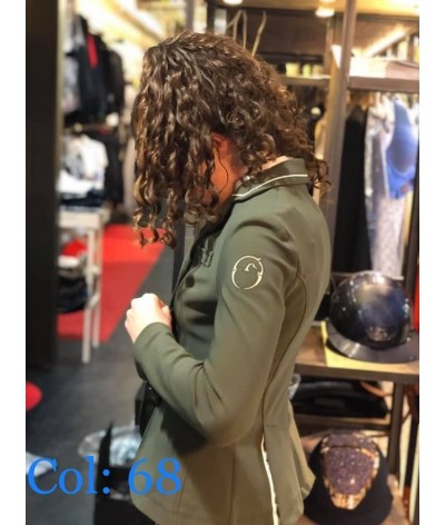 Vestrum Women's Competition Jacket Canberra Zip + Buttons
