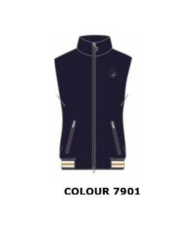 Cavalleria Toscana Women's Tokyo Nylon Zip vest