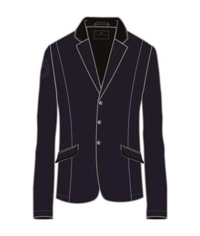 Cavalleria Toscana Lichtweight Jersey Zip Riding Jacket