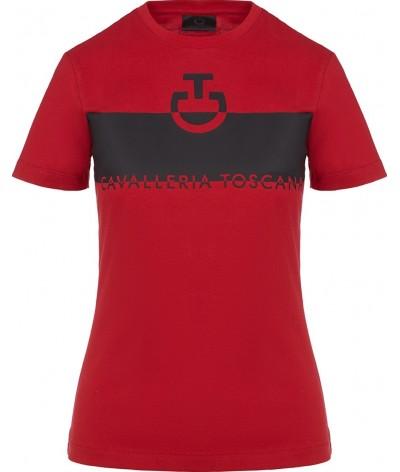 Cavalleria Toscana CT Adhesive Logo Cotton T-shirt