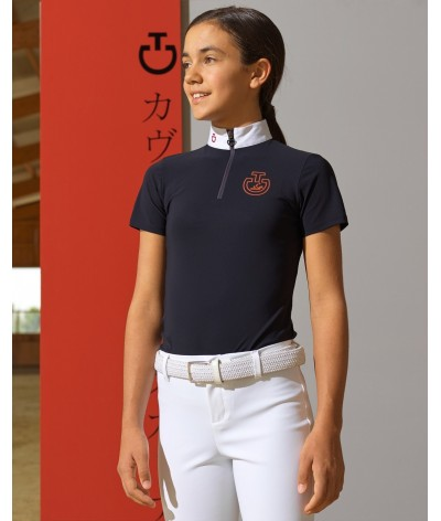 Cavalleria Toscana Horse and Rider S/S Jersey Competition Polo