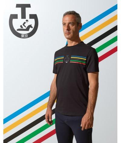 Cavalleria Toscana Men's Tokyo 2020 Cotton T-shirt