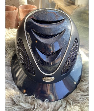 GPA First Lady Navy Glossy Visor and Front Vent/ Sparkling Piping