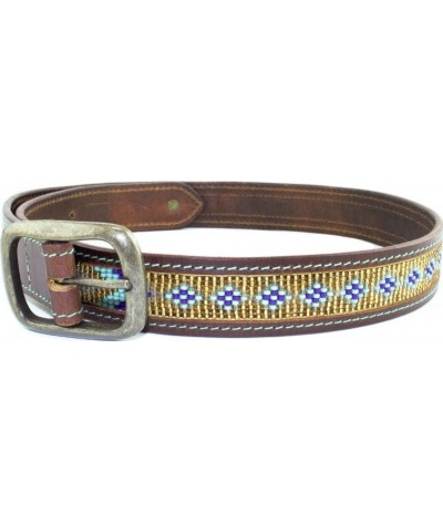 DWAM Indi Moon Leather Belt