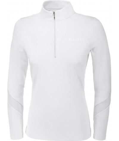 Pikeur Dames Wedstrijdshirt Shirt Alba Wit