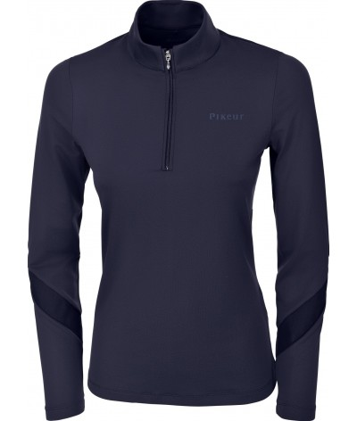 Pikeur Dames Wedstrijdshirt Shirt Alba Blauw