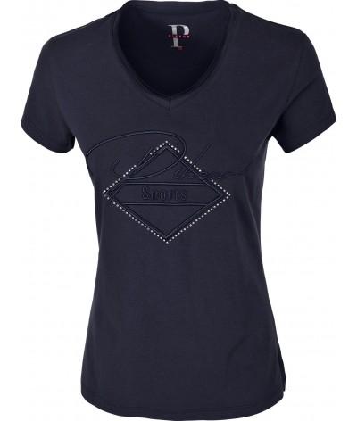 Pikeur Women's T-shirt Yva Blauw