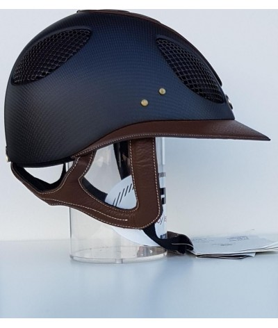 GPA Helmet First Lady Carbon 2x Black Braun