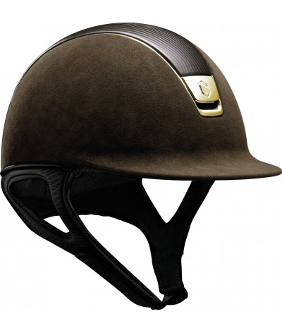 Samshield Cap Premium Brown + Top Leer + Chrome Gold
