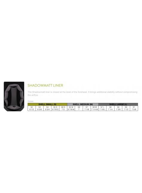 Samshield Cap Premium Bruin + Top Alcantara + Mat Brons/Chroom Zwart